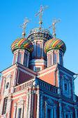 Christmas temple Nizhny Novgorod — Stock Photo