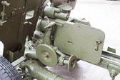 Breech of Russian anti-tank regiment 57-mm gun of the Second World War — Stock Photo