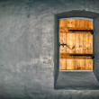 ancient walls with window — Stock Photo
