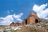 古城堡遗址 — 图库照片