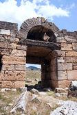 Zříceniny starého hradu — Stock fotografie