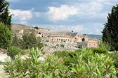 Ancient amphitheater ruins — Stock Photo