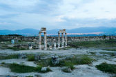 Ancient castle in Pamukkale — Stock Photo