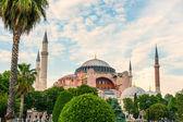Ancient Hagia Sophia Exterior — Stock Photo
