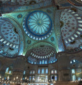 Blue Mosque Interior — Stockfoto