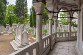 Muslim ancient cemetery — Stock Photo
