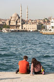 Golden Horn of Istanbul — Stock Photo