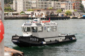 Water police Boat — Stock Photo