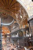 Ancient Hagia Sophia interior — Foto Stock