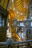 Ancient Hagia Sophia interior — Foto de Stock