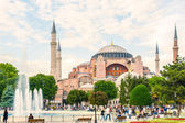 Ancient Hagia Sophia — 图库照片