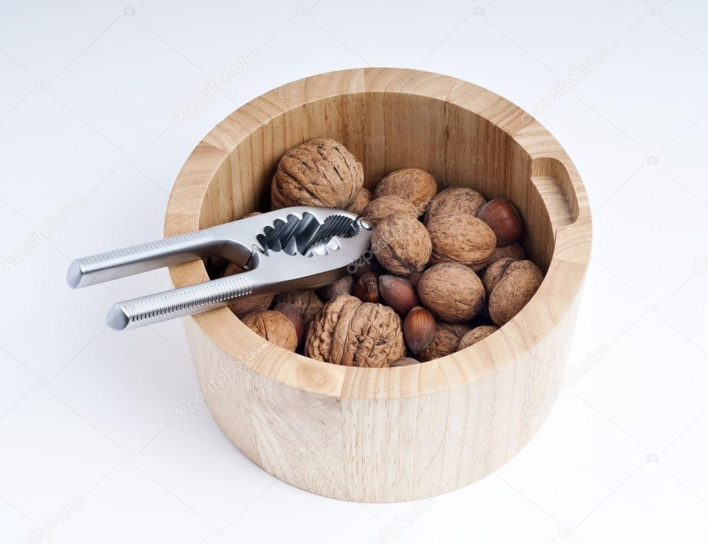 Bowl of nuts — Stock Photo #14818527