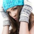 Stock Photo: Fashion winter woman