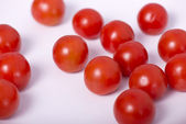 Group of small tomatos — Stockfoto