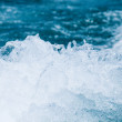 Water splash on the sea — Stock Photo