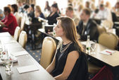 Business conference — Stock Photo
