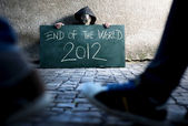 End of the world is comming — Stock Photo