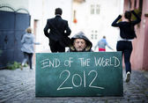 Koniec świata — Zdjęcie stockowe