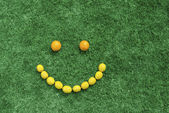Fruit smile — Stock Photo