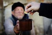 无家可归者 — 图库照片