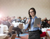 Business conference — Stockfoto