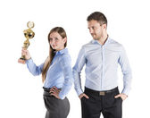 Successful business colleagues — Stock Photo
