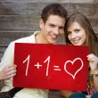 Students love - Stock Photo
