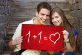 Studenti láska — Stock fotografie