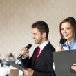 Business conference — Stock Photo #18742945