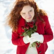 Snow love — Stock Photo