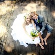 Beautiful wedding couple — Stock Photo #21085649