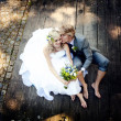 Beautiful wedding couple — Stock Photo #21085843