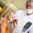 Stock Photo: Dental visit