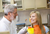 Dental visit — Stock Photo