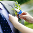 Wedding preparations — Stock Photo
