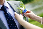 Wedding preparations — Stock Photo