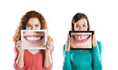 Funny portraits — Stock Photo