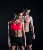 Fitness portrait — Stock Photo