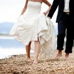 Wedding feet — Stock Photo #24330059