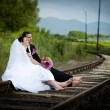 Bride and groom — Stock Photo #25386083