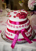 Torta nuziale — Foto Stock