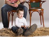 Vater und sohn — Stockfoto