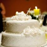 Hochzeitstorte — Stockfoto