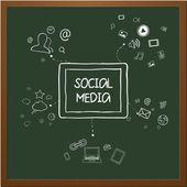 Comunicazione internet — Vettoriale Stock