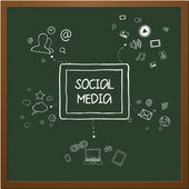 Internet communication — Stock Vector