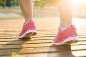Venkovní běžec — Stock fotografie
