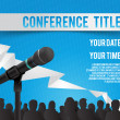 Conference illustration — Stock Vector #29857687