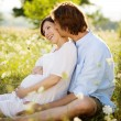 Pregnant couple — Stock Photo #29866529