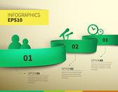 Ilustración de diseño de negocios — Vector de stock