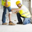Construction accident — Stock Photo